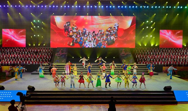 """第八届""""童声里的中国""""少儿歌谣创作大赛颁奖仪式在江苏通州举行"""